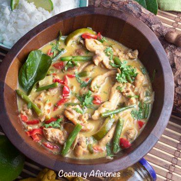 Curry de pollo, la receta hindú clásica, la más sencilla y deliciosa
