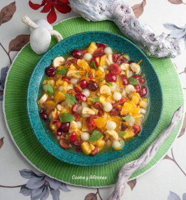 Macedonia del día de Reyes, un postre fresco el broche de oro de una fantástica comida