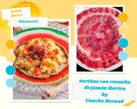 Zonas de mayor producción de jamón ibérico en España y una receta de tortitas con revuelto de jamón ibérico
