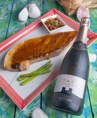 Ventresca de atún glaseada con maracuyá, receta super deliciosa