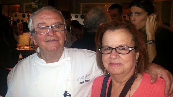 Arzak y Concha Bernad