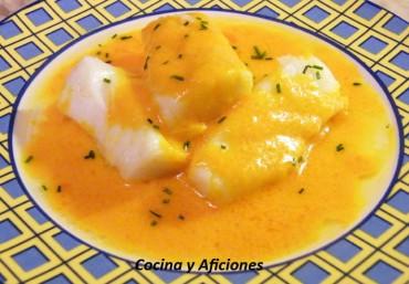 """Bacalao con """"mahonesa"""" de ají amarillo, receta"""
