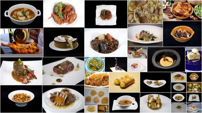 Collage platos castilla leon