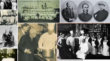 Escoffier, el  Maestro que revolucionó las cocinas, apuntes.