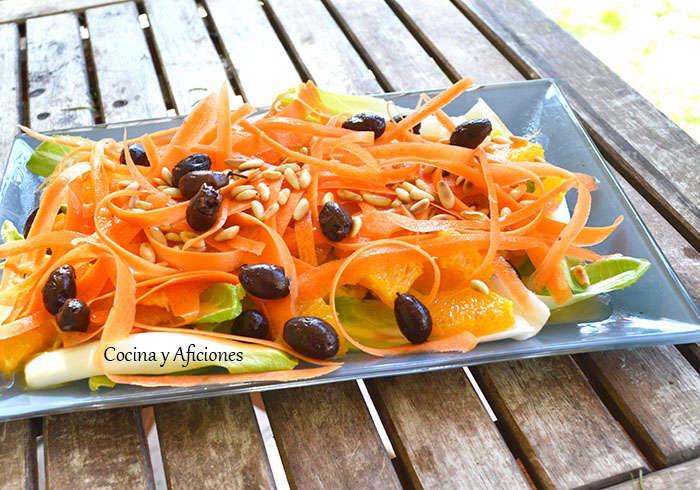 Ensalada marroqui de naranja 3