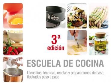 Escuela de cocina,  un libro imprescindible.