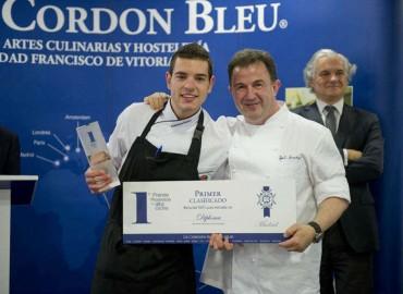 """Ya tenemos el ganador del premio """"Promesas de la alta cocina"""" de le Cordon Bleu"""