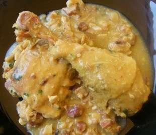 gallina en pepitoria