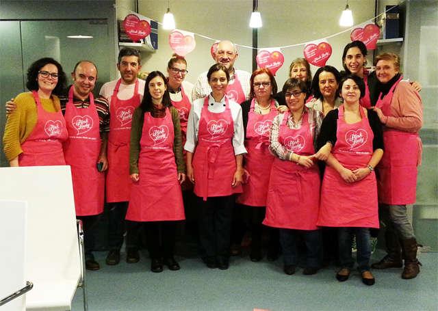 Taller con manzanas pink lady en la escuela de cocina - Escuela cocina telva ...