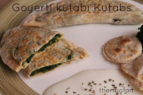 Goyerti kutabi Kutabs de espinacas