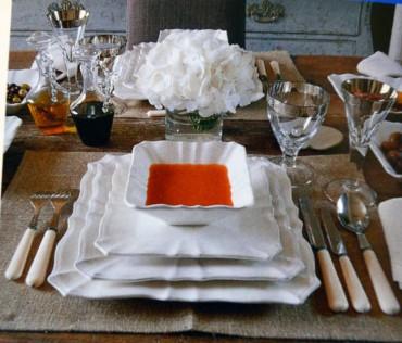Las buenas maneras en la mesa: los cubiertos, como utilizarlos.