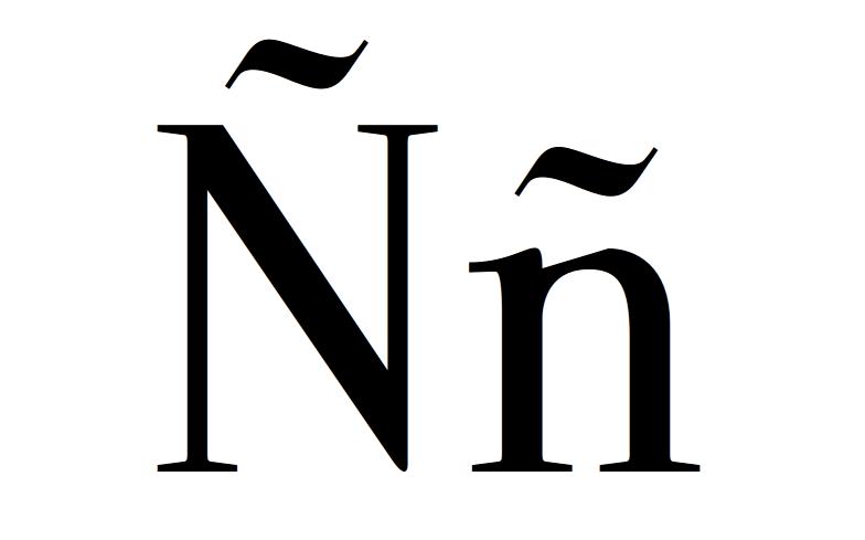 """Historia de la """"ñ"""" , los """"acentos"""" y de las fotos del blog"""