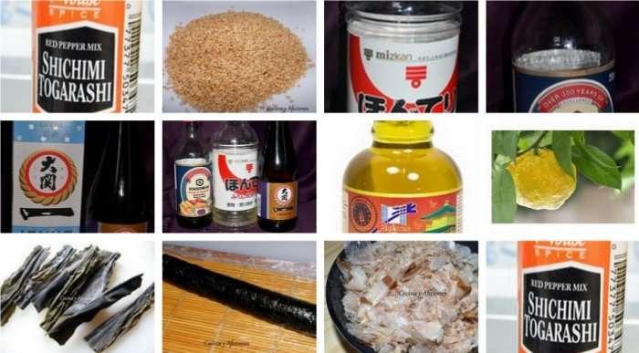 Ingredientes imprescindibles en la cocina japonesa 2º parte, apuntes.