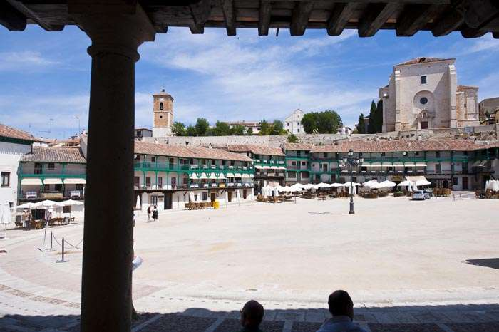 Plaza Chinchon dia