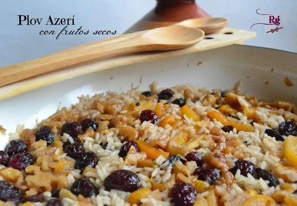 Plov Azerí con frutos secos