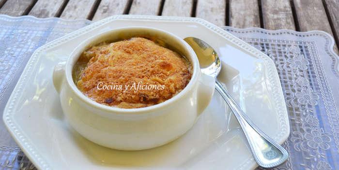 Sopa de cebolla al estilo francés con la autentica receta de Escoffier, paso a paso