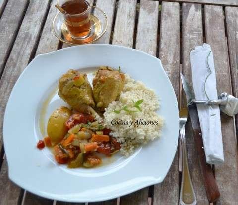 Tajine bereber de pollo 1