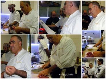 Taller de «carne de caza» con el «Maestro» Abraham García