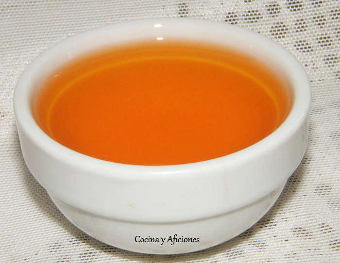 Aceite picante chino, receta paso a paso