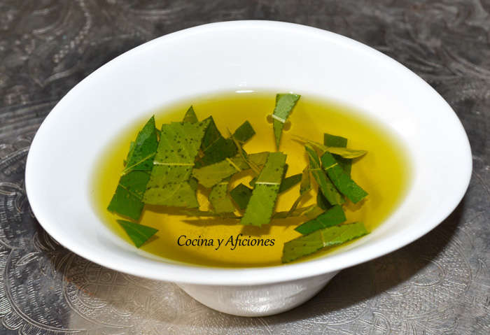 Aceite de hierba Luisa, receta paso a paso