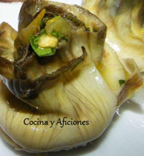 alcachofa asada