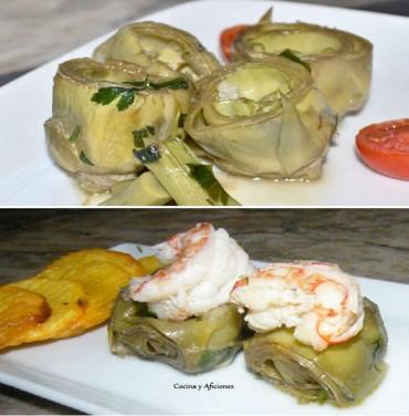Alcachofas a la cazuela, vegetarianas y para el aperitivo, receta paso a paso