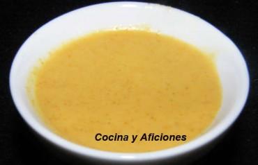 Aliño Thai, receta