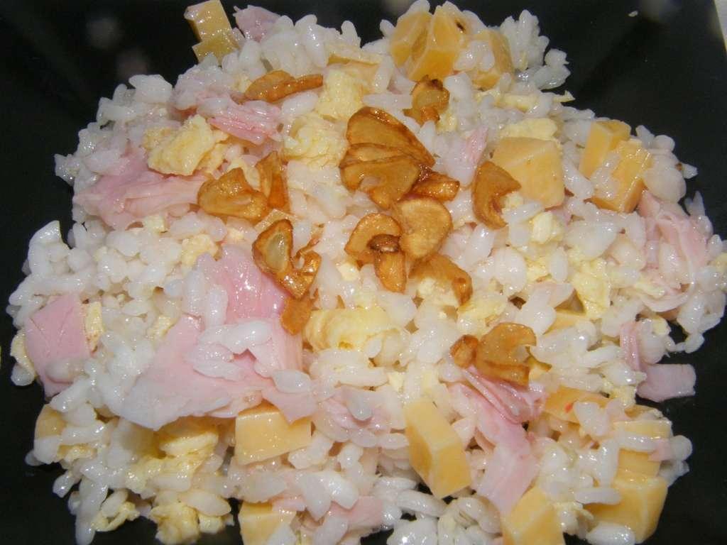 Arroz tres delicias españolas, receta