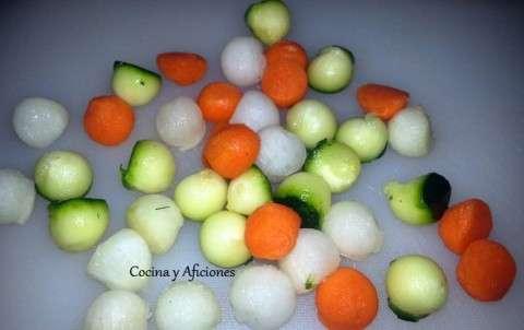 bolitas de verdura