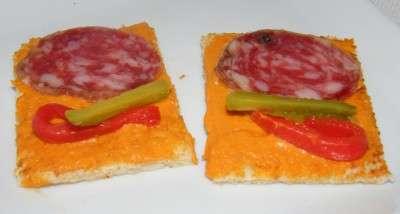 canape de salchichon 1