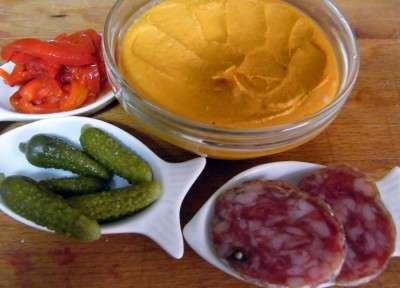 canape de salchichon ingredientes