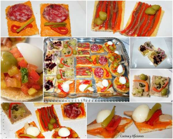 canapes collage 1