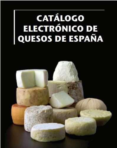 Catálogo electrónico de Quesos españoles.