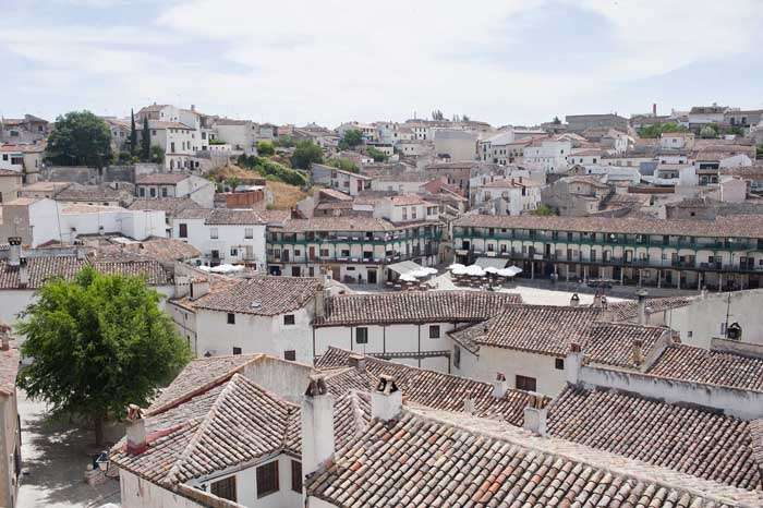 chinchon vista panoramica