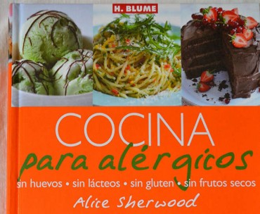 Cocina para alérgicos, sin huevos, sin lácteos, sin gluten, sin frutos secos.