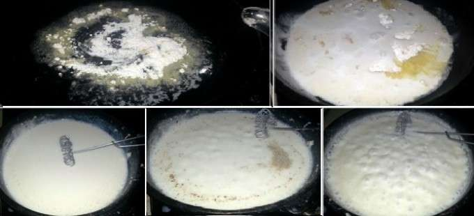 collage bechamel