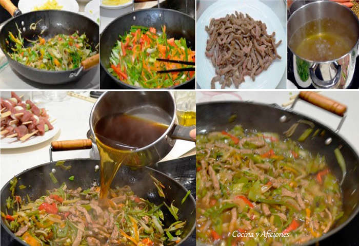 collage fideos yakisoba