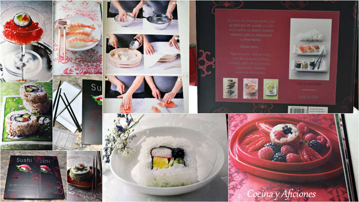 collage libro sushi