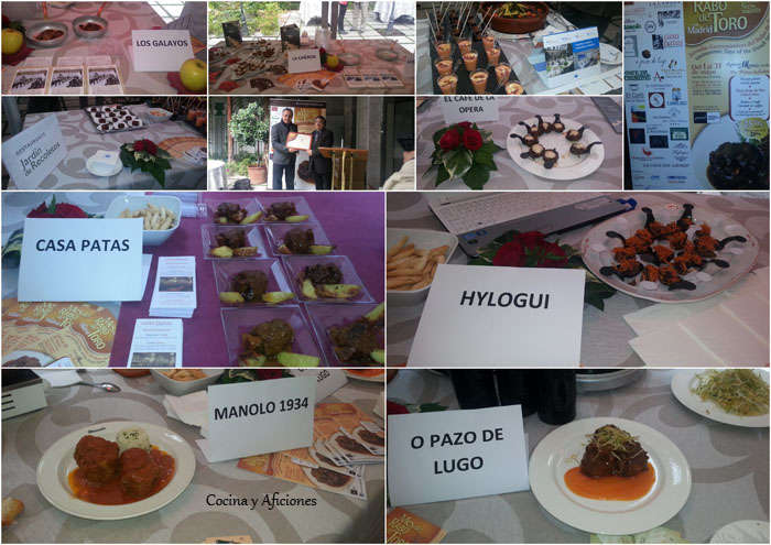 collage rabo de toro evento