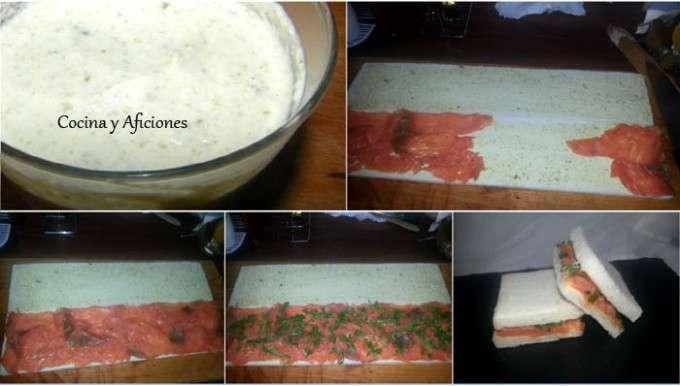 collage salmon