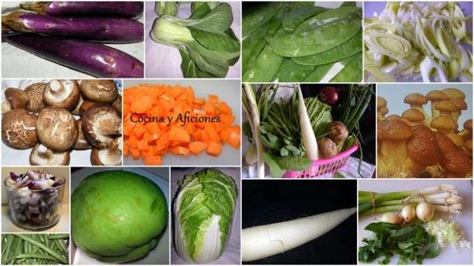 collage verduras