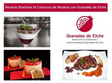 Finalista en el III Concurso con Granadas de Elche