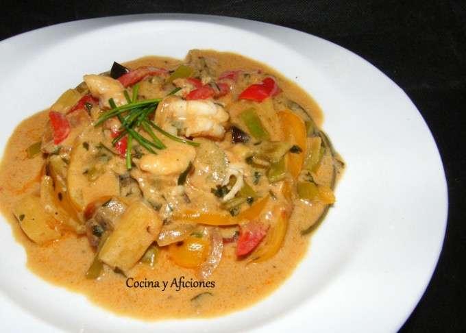 curry de verduras,gambas y pina ok1