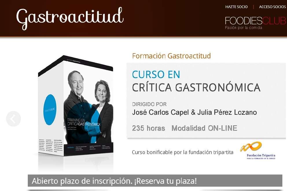 Gastroactitud, una nueva web para los apasionados de la gastronomía.