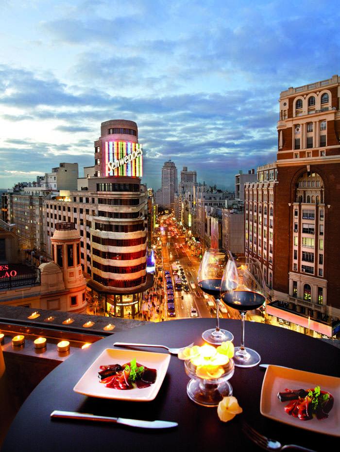 Un nuevo «Gourmet Experience» con unas vistas magnificas.