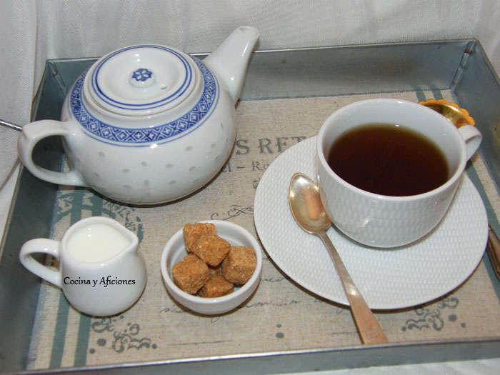 Un té perfecto al estilo ingles, receta británica