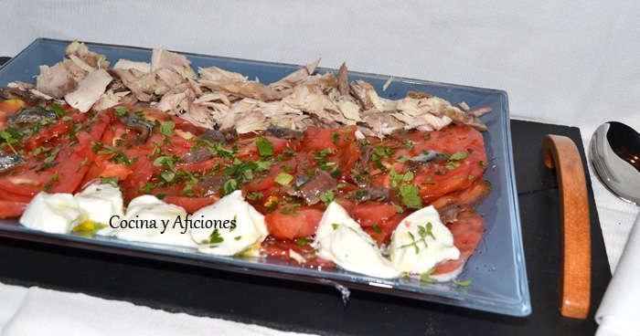 ensalad muy sencilla de tomate 1