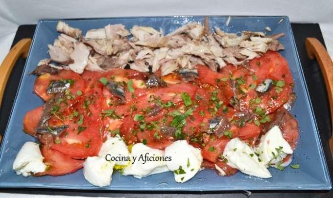 ensalad muy sencilla de tomate 2