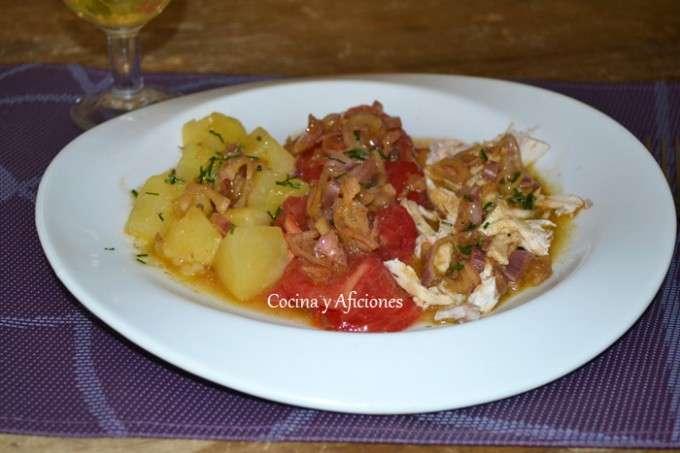 ensalada completa con vinagreta 3