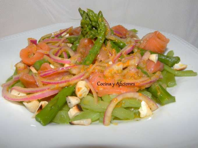 ensalada de verduras y salmon marinado 4